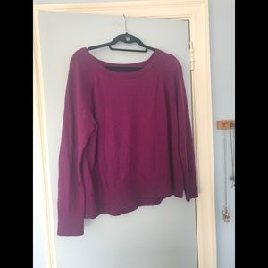 Lou & Grey Maroon Pull over Sweater